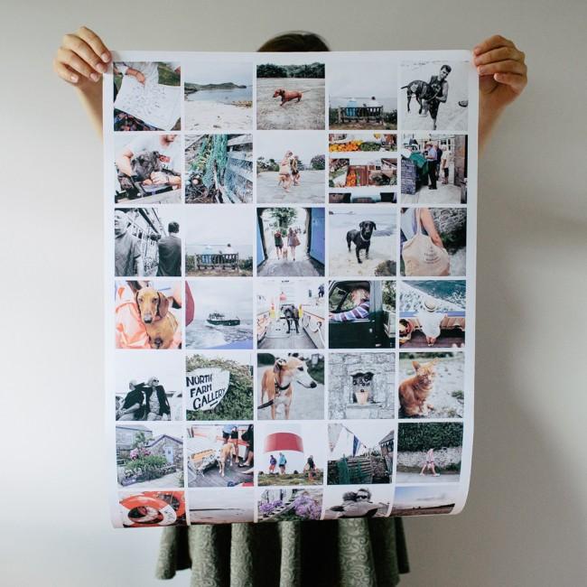 Печать постера с фотографиями в Солигорске